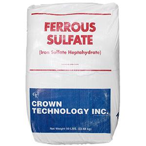 Crown Ferrous Sulfate 20 Percent (50lb) title=