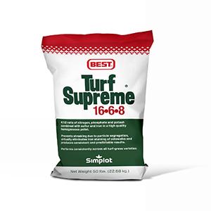Best 16-6-8 Turf Supreme (50lb) title=