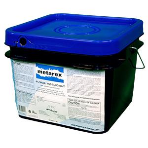 Metarex 4 Percent Snail Slug Bait (Blue Pellets) (15LB Pail) title=