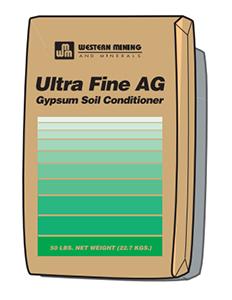 Western Ultra Fine AG Gypsum (80 lb) title=