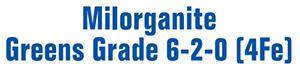 Milorganite 6-2-0 Greens Grade w/ 4Fe (50 lb) title=
