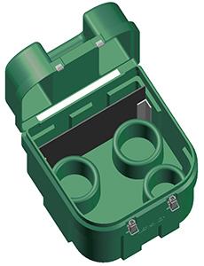 Technician Service Case (Green) title=